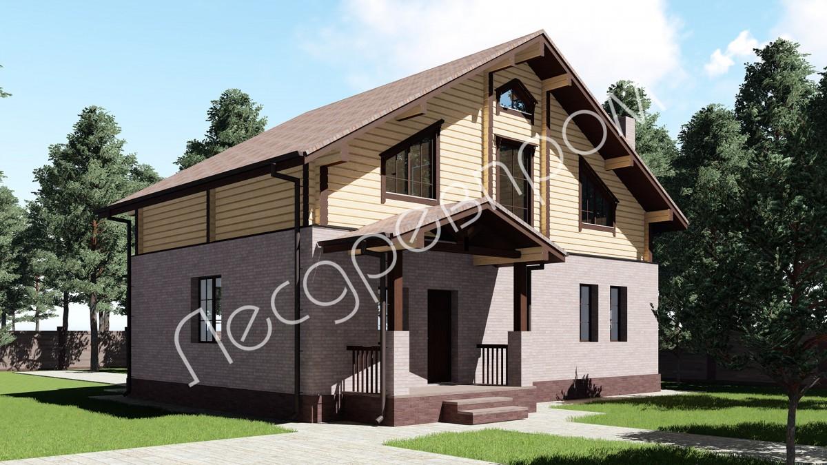 Проект дома КД-177, Михнево