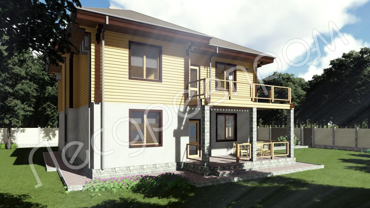 Проект дома КД-231, Рейн