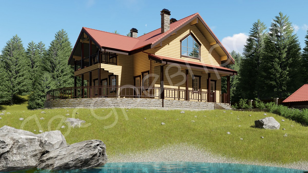 Проект дома Д-276, Захарово