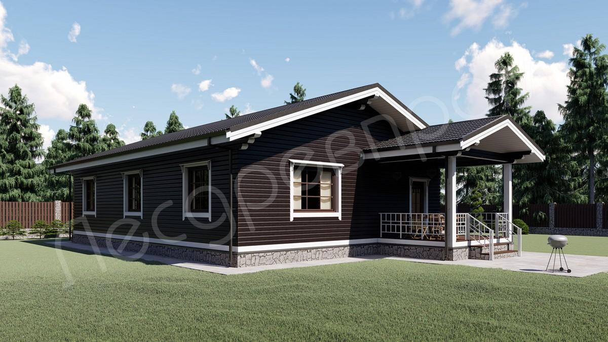 Проект дома Д-150, Казаково