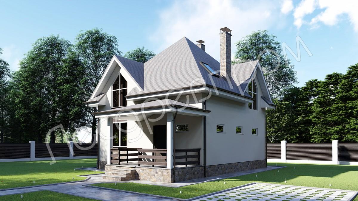 Проект дома К-132, Малышево