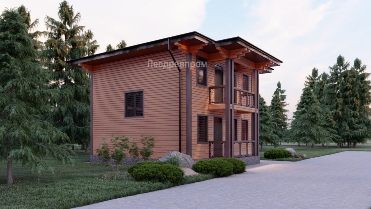 Проект дома Ангара