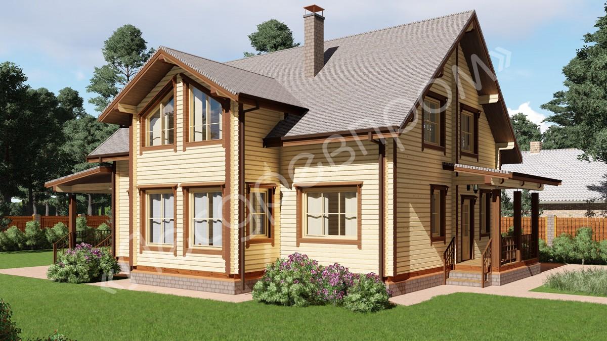 Проект дома Д-223, Дарья
