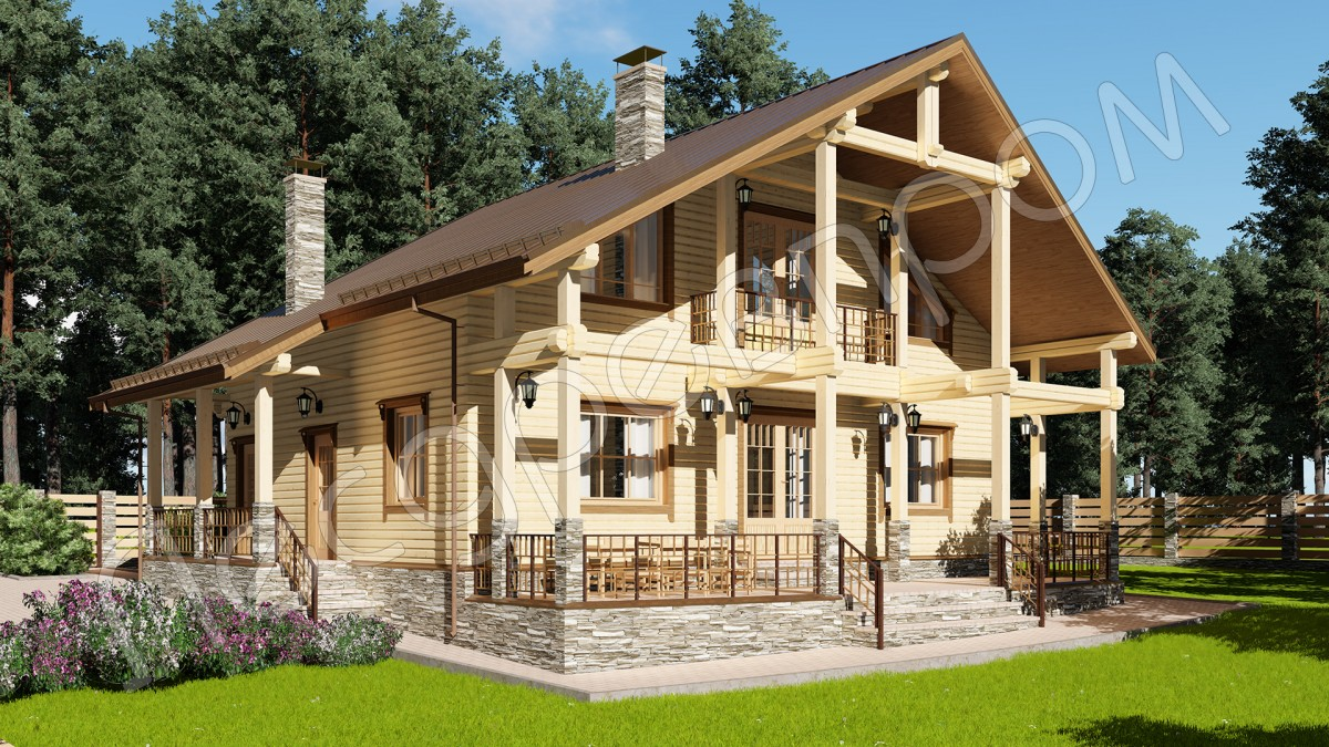 Проект дома Д-252, Устиново